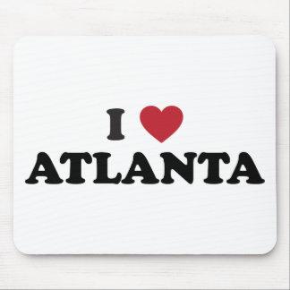 I Love Atlanta Georgia Mouse Pad