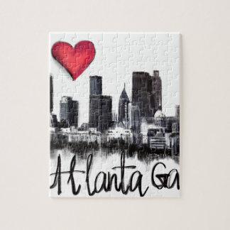 I love Atlanta Jigsaw Puzzle