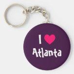 I Love Atlanta Keychains