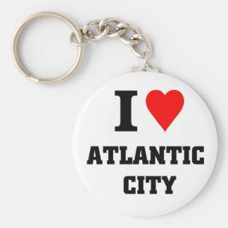 I love Atlantic City Keychain