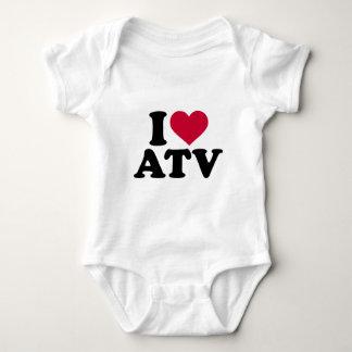 I love ATV Baby Bodysuit