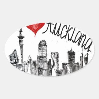 I love Auckland Oval Sticker