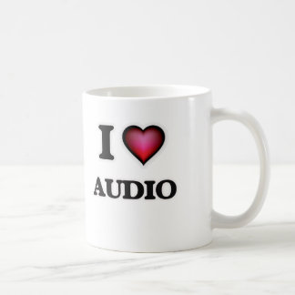I Love Audio Coffee Mug