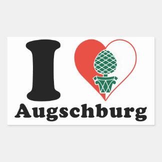 I love Augschburg Sticker