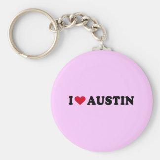 I LOVE AUSTIN / I HEART AUSTIN KEYCHAIN