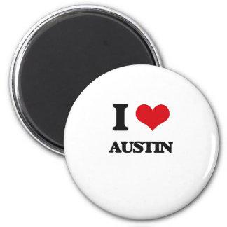 I love Austin Magnets