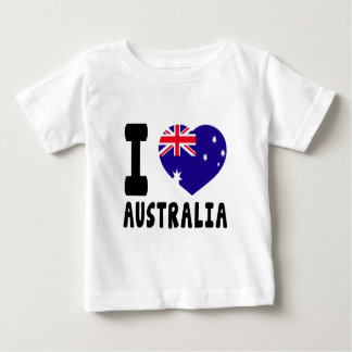 I Love Australia Baby T-Shirt