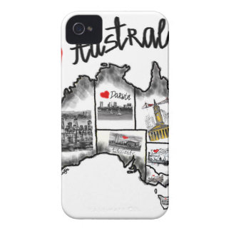 I love Australia iPhone 4 Case