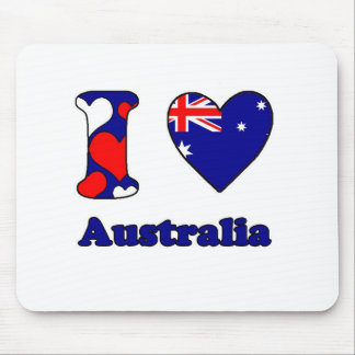 I love Australia Mouse Pads