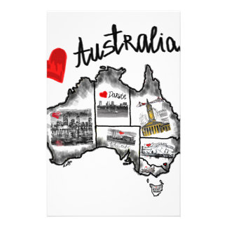 I love Australia Stationery