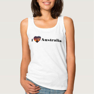 I love Australia tank top