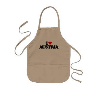 I LOVE AUSTRIA APRONS