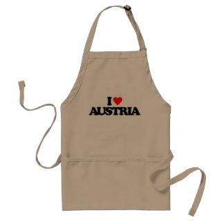 I LOVE AUSTRIA APRON
