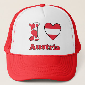 I love Austria Trucker Hat