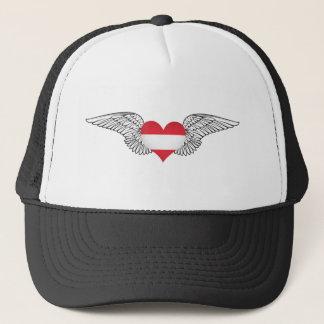 I Love Austria -wings Trucker Hat