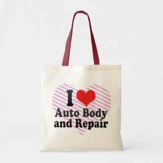I Love Auto Body and Repair Bags