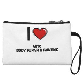 I Love Auto Body Repair & Painting Digital Design Wristlets