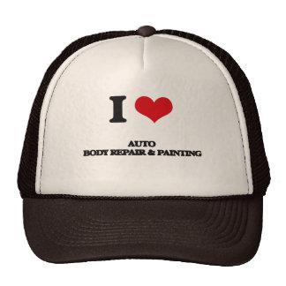 I Love Auto Body Repair & Painting Trucker Hat