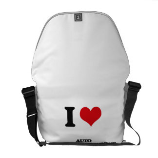 I Love Auto Body Repair & Painting Courier Bags
