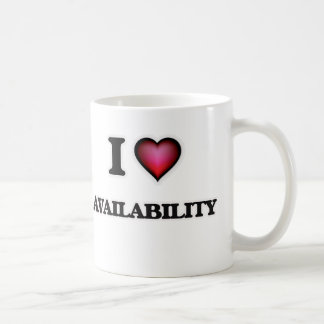 I Love Availability Coffee Mug