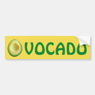 I Love Avocados 4Derek Bumper Sticker