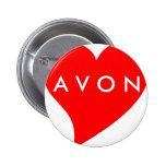 I Love AVON 2 Inch Round Button