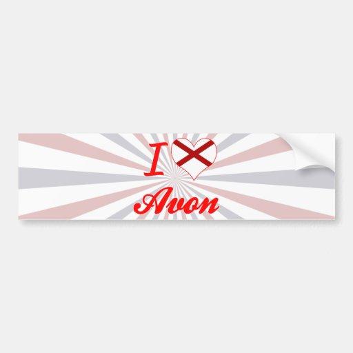 I Love Avon, Alabama Bumper Stickers