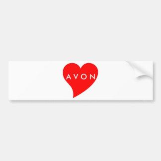 I Love AVON Bumper Sticker