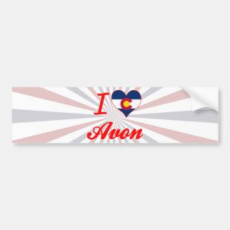 I Love Avon Colorado Bumper Sticker