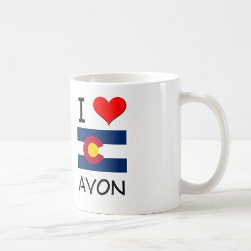 I Love AVON Colorado Mugs