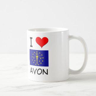 I Love AVON Indiana Mug