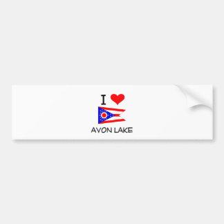 I Love Avon Lake Ohio Bumper Stickers