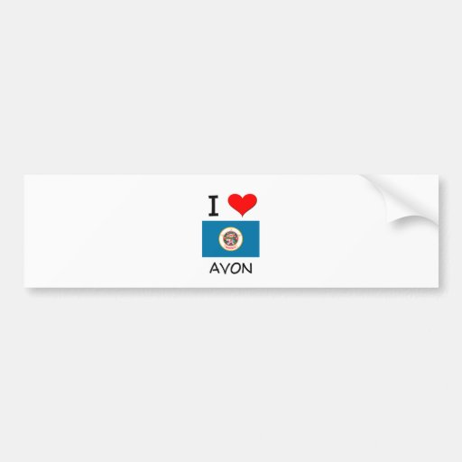 I Love Avon Minnesota Bumper Stickers