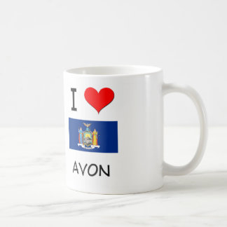 I Love Avon New York Mug