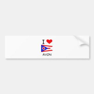 I Love Avon Ohio Bumper Sticker