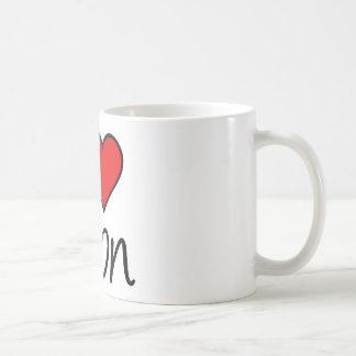 i love avon square classic white coffee mug