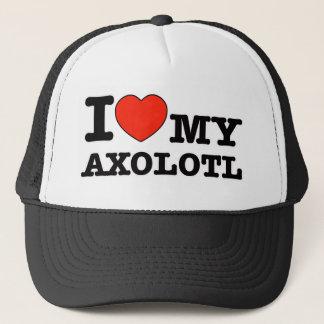 I Love axolotl Trucker Hat