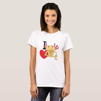 I Love Axolotls T-Shirt