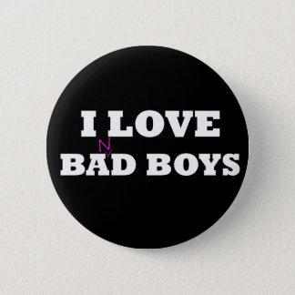 I Love Ba(n)d Boys 2 Inch Round Button