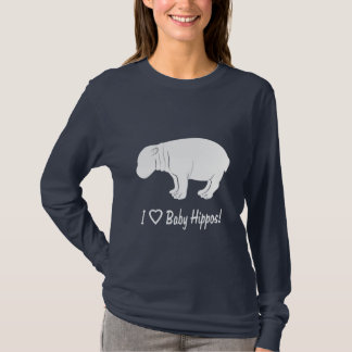 I Love Baby Hippos T-Shirt