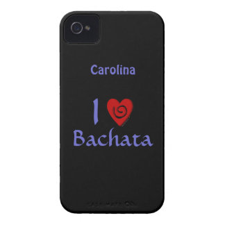 I Love Bachata Latin Dancing Personalized Cover iPhone 4 Cover