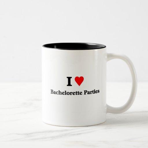 I love bachelorette Parties Mug