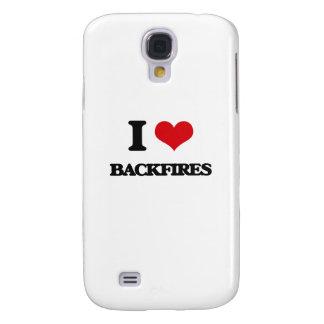 I Love Backfires Galaxy S4 Case