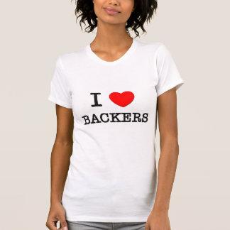 I Love Backfires Tee Shirts