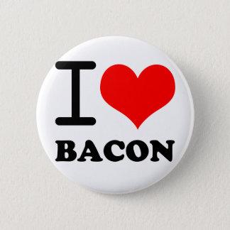 I love bacon 2 inch round button