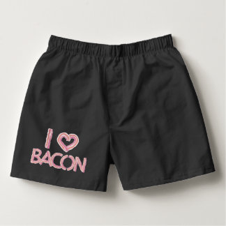 I Love Bacon Boxers
