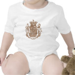 I Love Bacon Heraldic Crest Products T-shirts