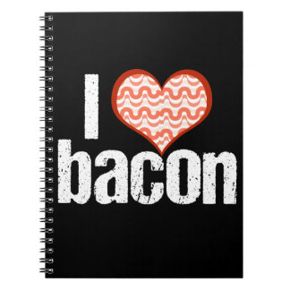 I Love Bacon Notebook