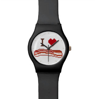 I Love Bacon Watch