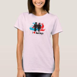 I Love Bad Boys T-Shirt